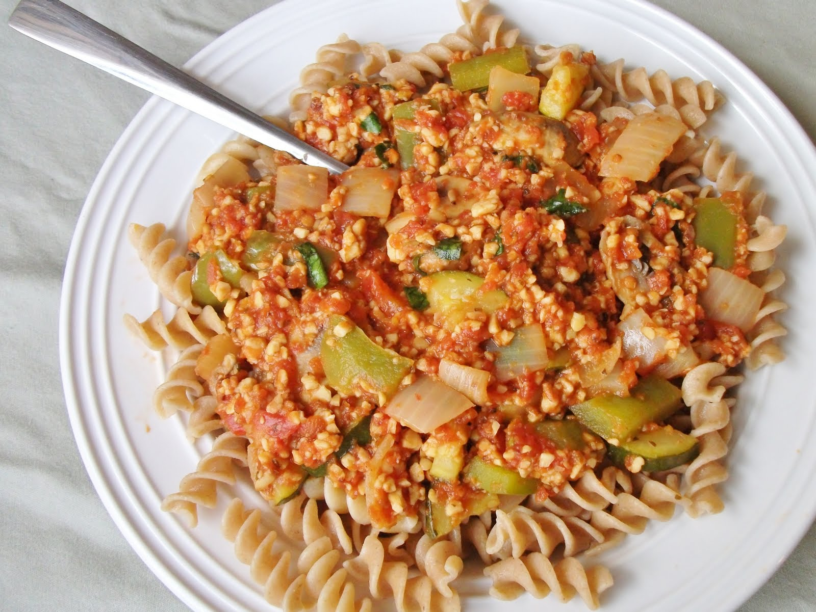 Try this tempeh bolognese for a vegan twist on the classic pasta dish - you won't miss the meat!