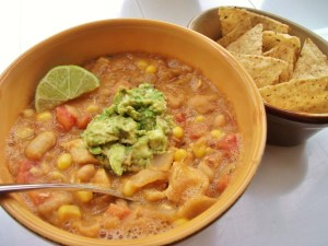 White bean and chicken chili