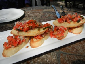 Martini House Burlington, Ontario: Bruschetta