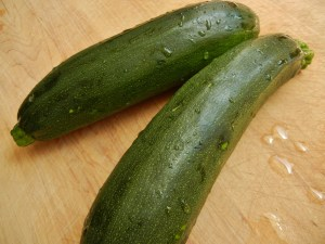 Zucchini from the farm