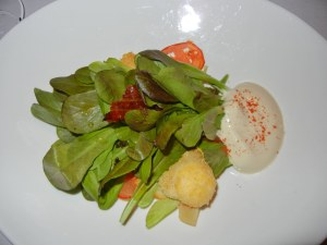 Blacktree restaurant - Caesar salad