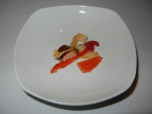 Blacktree restaurant - amuse bouche