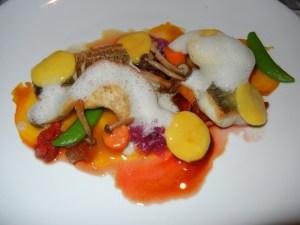 Blacktree restaurant - pickerel with oxtail dumpling