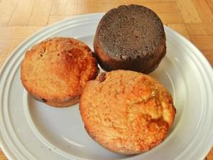 Burnt muffins