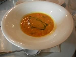 Garlic's of London vegan corn chowder