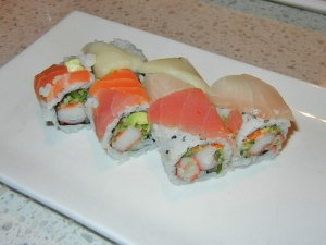 August 8 Burlington - rainbow roll