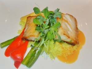 Crave restaurant London, Ontario - Pan roasted sablefish