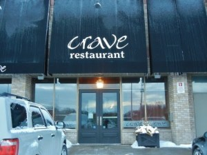 Crave restaurant London, Ontario