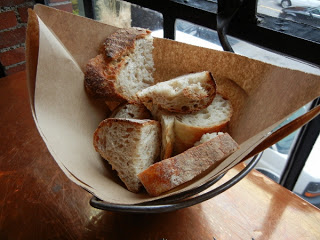Fore Street Restaurant - bread with whipped butter