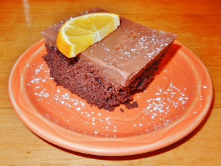 Moosewood Restaurant - vegan chocolate cake