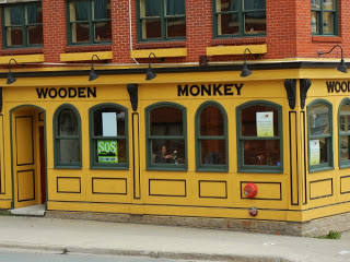 The Wooden Monkey restaurant in Halifax