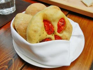 Buca Restaurant Toronto - house baked bread