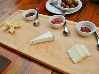 Buca restaurant Toronto - cheese plate