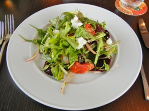 The Springs restaurant London, Ontario - wildwood greens salad