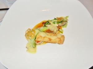 Blacktree - black cod, lobster spring roll, prawn