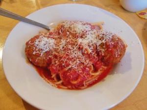 Romano's Ristorante - spaghetti and meatballs