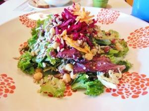 Lettuce Love Cafe Chakra Salad