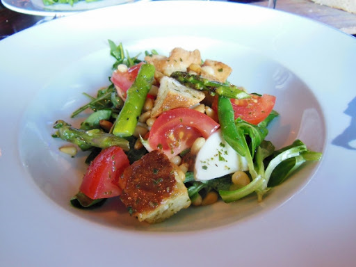 The Bicycle Thief Halifax - spring panzanella salad