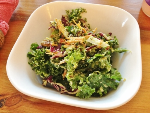 Naked Sprout kickin' kale salad